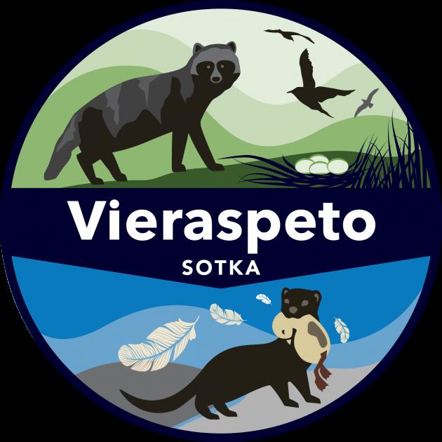 SOTKA-vieraspetohankkeen logo